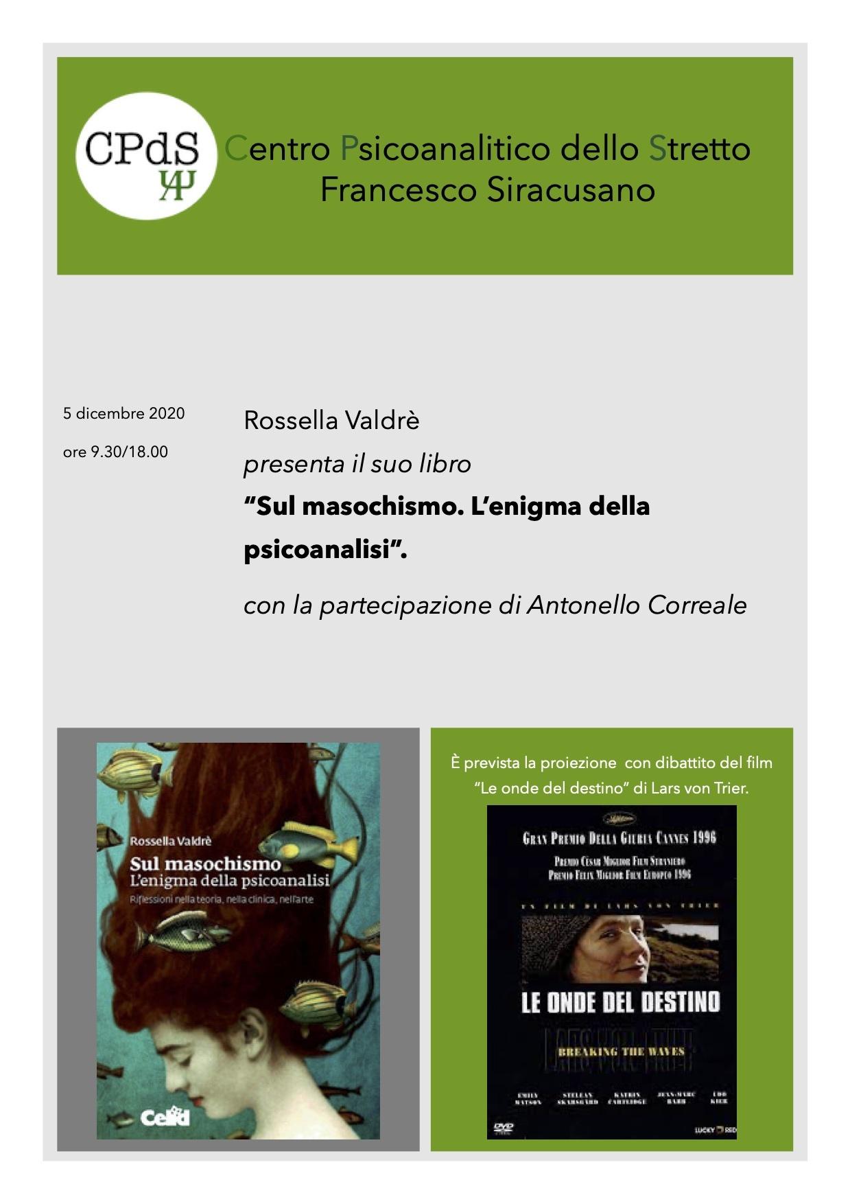 Locandina presentazione libro Rossella Valdrè